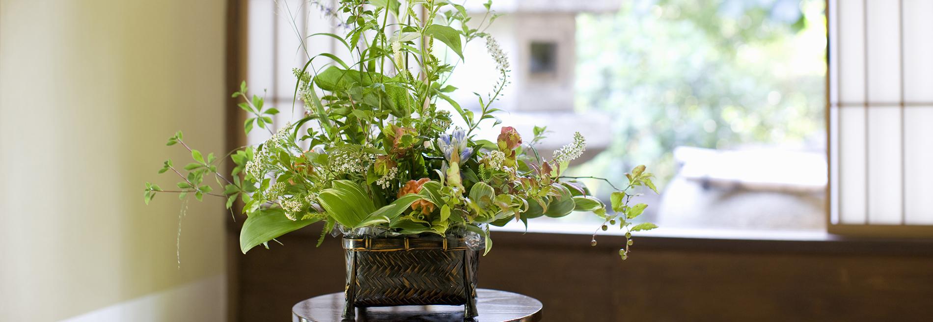 お花を便利に。もっと身近に。松庄花壇トップページスライドショー画像1